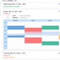 Google Calendar as an Internal Comms Scheduling Tool